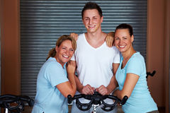 Woman with Personal Trainer Royalty Free Stock Photography