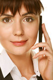 Woman on Phone Stock Photos
