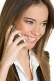 Woman on Phone Stock Photo