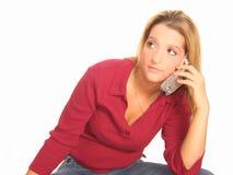 Woman Phone Stock Photos