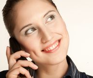 Woman on Phone Stock Photos
