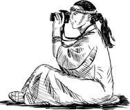 Woman photographer Royalty Free Stock Photo