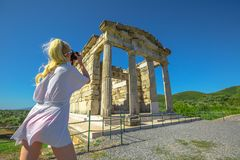 Travel Photographer Greece royalty free stock images