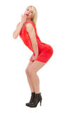 Woman pin up pose Stock Images
