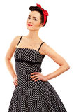 Woman in Pin-up style Stock Photography