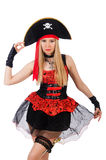 Woman pirate Royalty Free Stock Image
