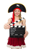 Woman pirate Royalty Free Stock Photography