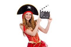 Woman pirate Stock Photography