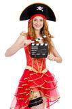Woman pirate Royalty Free Stock Photos