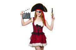 Woman pirate Stock Photos