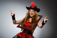 Woman pirate Royalty Free Stock Image