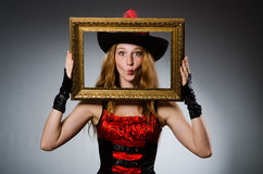 Woman pirate Stock Photos