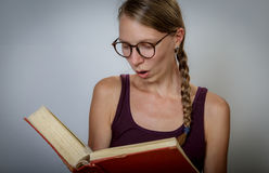 Image result for staring at a book