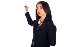 Woman Planning Stock Photos