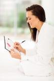 Woman planning pregnancy Stock Photo