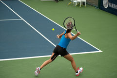 Woman playing tennis . Stock Images