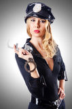 Woman police Royalty Free Stock Photography
