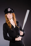 Woman police office Royalty Free Stock Images