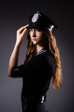 Woman police office Royalty Free Stock Photo