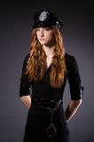 Woman police office Royalty Free Stock Photography