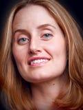 Woman portrait. Portrait of a mid adult woman royalty free stock photos