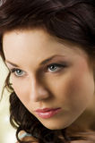 The woman portrait Royalty Free Stock Photography