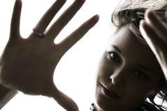 Woman Portrait Stock Photography