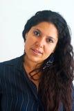 Woman portrait blue Royalty Free Stock Photo