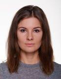 Woman portrait close-up photo Stock Photos