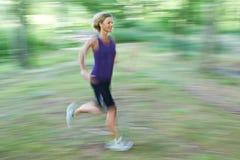 Woman portrait doing sport Stock Image