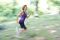 Woman portrait doing sport Stock Photo