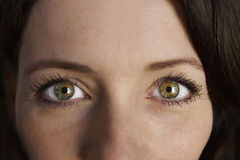 Woman Portrait Eyes Royalty Free Stock Images