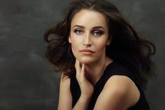 Woman portrait fashion Stock Image
