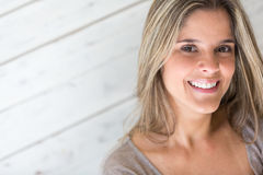 Woman portrait smiling Royalty Free Stock Images