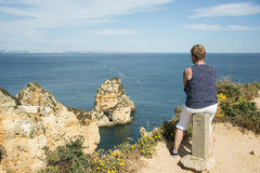 Woman in Portugal Stock Photography