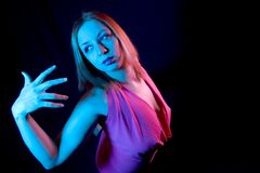 Woman in Pose Royalty Free Stock Photo
