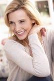 Woman poses in studio Stock Photo