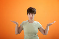Woman Posing Royalty Free Stock Photo