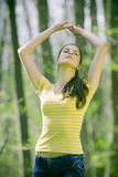 Woman posing Royalty Free Stock Photography