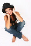 Woman Posing Royalty Free Stock Images