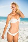 Woman posing at the beach Royalty Free Stock Image