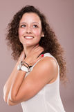 Woman posing Stock Image