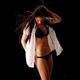 Woman posing in bikini Stock Photo