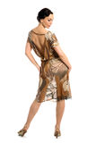 Woman posing in sheer dress Stock Photos