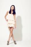 Woman posing wearing dress Royalty Free Stock Photo