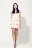 Woman posing wearing dress Royalty Free Stock Image