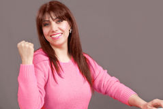Woman power Royalty Free Stock Photography