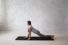 Free Woman Practicing Advanced Yoga. A Series Of Yoga Poses Royalty Free Stock Images - 89493499