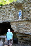 National Shrine Grotto of Our Lady of Lourdes Stock Image