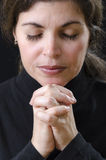 Woman Praying Stock Image